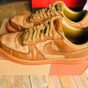 timeless design dc31f 93337 Nike Shoes - 2006 Nike Air Force 1 INSIDEOUT IO MAPLE MANGO